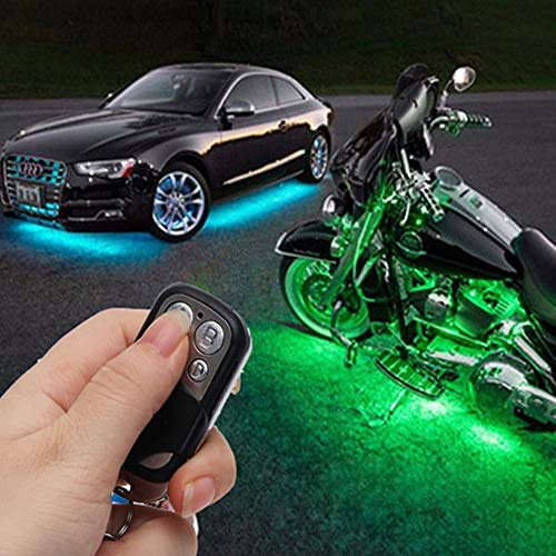 SalaBox-Accessories - LED Car Motorcycle Decorative Light 12V Automobiles Neon RGB Atmosphere Lamp Kit with Remote Control Car-styling from SalaBox-Accessories