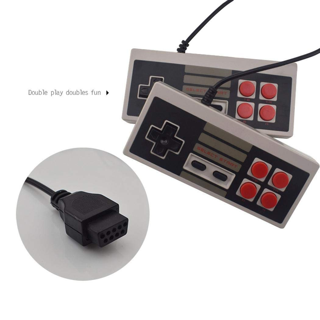Detailorpin Built in 620 Games Recreation Retro Built-in Classic Games Dual Gamepad Gaming Player (US 4 Buttons) by Detailorpin (Image #8)