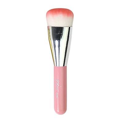 Pinceaux pour le maquillage ,Moonuy Pinceau maquillage brosse pinceau fard à paupières en poudre Brosse en poudre de coeur de pêche molle dispersée (B)