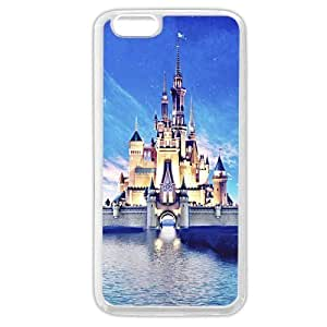 Customized White Soft Hard(PC) Disney Castle Case Cover For Apple Iphone 4/4S Only fit Case Cover For Apple Iphone 4/4S