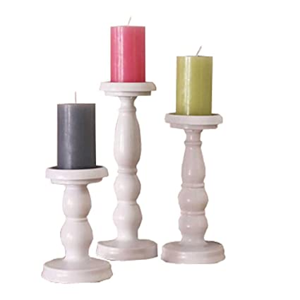 2335617e6d Image Unavailable. Image not available for. Color: 3PCS/set Iron Metal  Candle Holder Pillar Candle Stand Candlestick ...