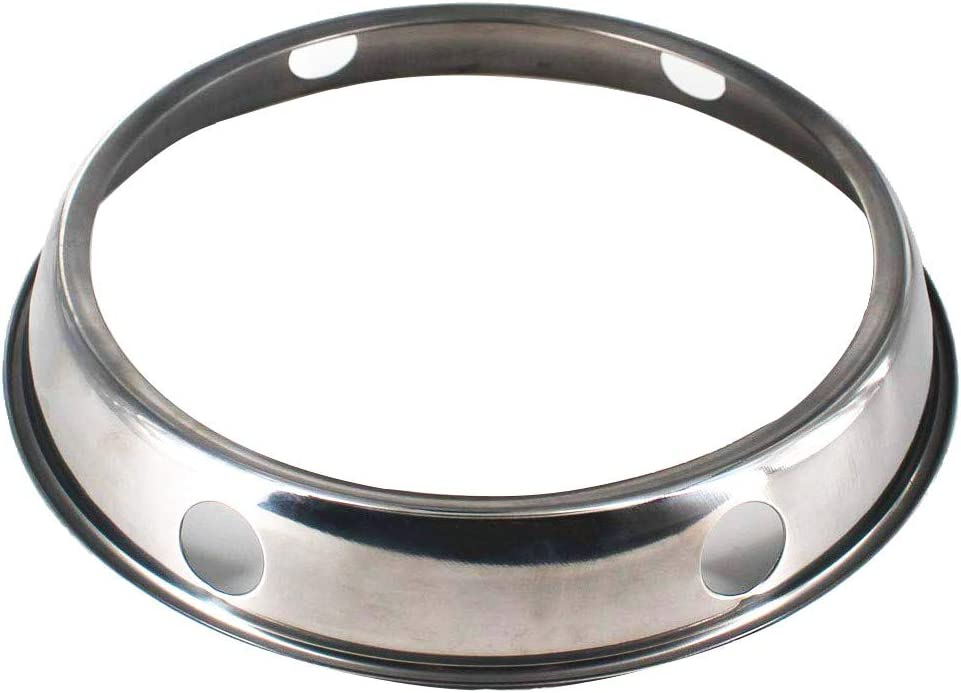 Wok Ring, stainless steel Wok Rack, 9 Inch Reversible Size for Kitchen Use