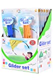 Planet Of Toys Hand Paraglider Launder Glider - Set Of 24 For Kids / Children