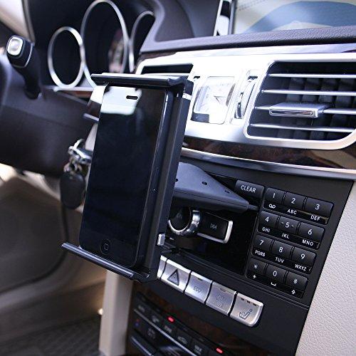 Amazon Com Koomus Cd Air Tab Tablet Car Mount Holder For Cd Slot
