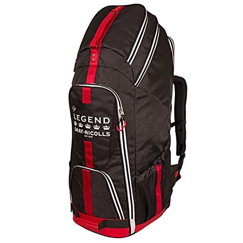 Gray-Nicolls Legend Duffle Cricket Bag (Black/Red/White) by Gray-Nicolls