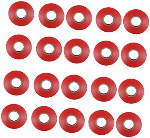 [해외]joyMerit 20pcs Flower Vegetable Tying Binding Machine Garden Tapetool Tapener Tapes - Red / joyMerit 20pcs Flower Vegetable Tying Binding Machine Garden Tapetool Tapener Tapes - Red
