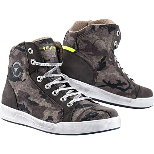 (Stylmartin Adult Raptor Evo Urban Line Sneakers Camo Size: US-10, EU-43)