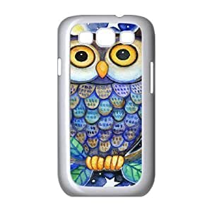 Owl Unique Design Cover Case for Samsung Galaxy S3 I9300,custom case cover ygtg526644