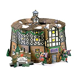"""Department 56 """"The Old Globe Theatre"""" Dickens Village"""