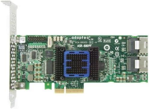 ADAPTEC ASR-6405E 4x SAS//SATA 6G RAID 128MB PCIe Raid Controller