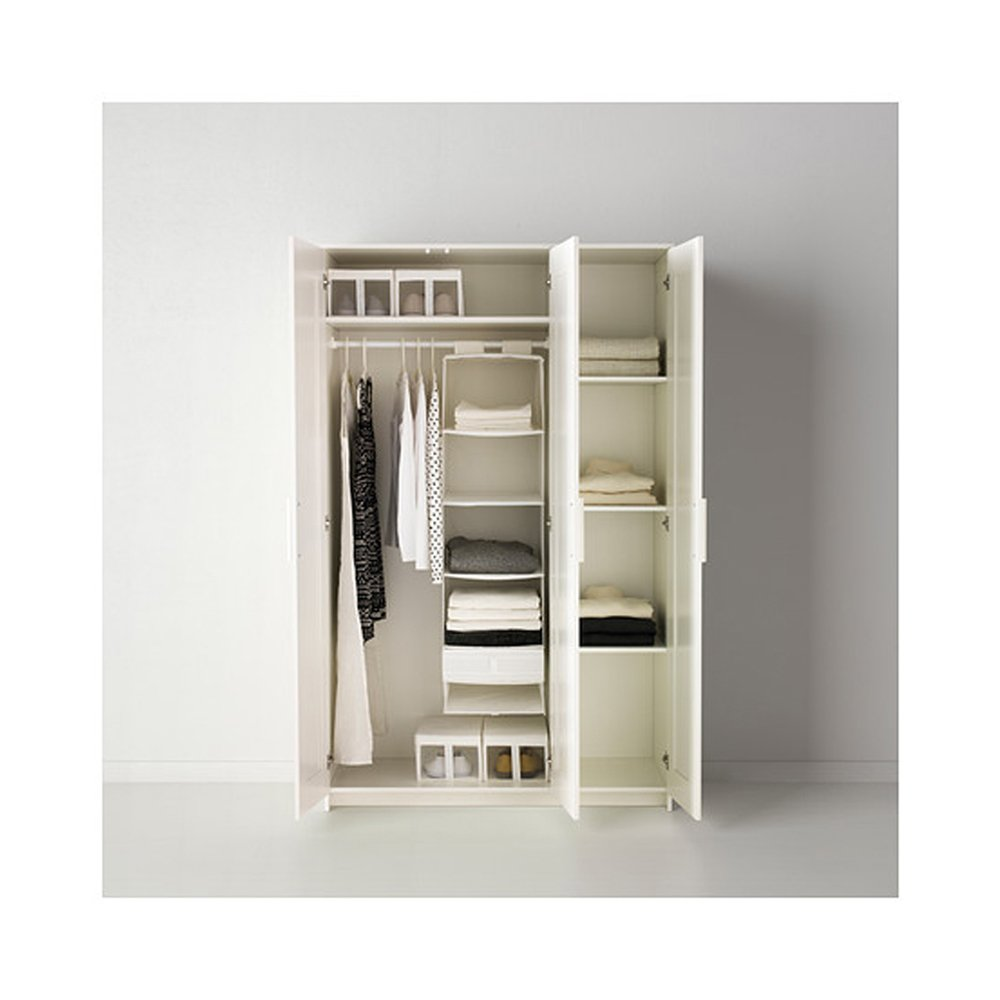 Amazon.com IKEA Brimnes Home Bedroom Wardrobeswardrobe With 3 Doors White Home u0026 Kitchen  sc 1 st  Amazon.com & Amazon.com: IKEA Brimnes Home Bedroom Wardrobeswardrobe With 3 Doors ...