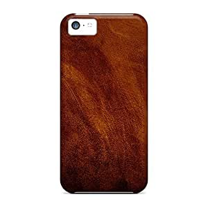 fenglinlinCharming YaYa Awesome Case Cover Compatible With ipod touch 5 - Red Brown Leather