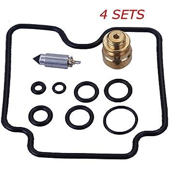 Amazon com: NEW 4 Sets Carburetor Carb Repair Rebuild Kits