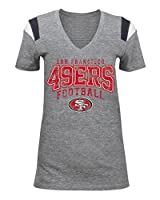 NFL Ladies Tri-Blend V-Neck Tee by 5th and Ocean Apparel