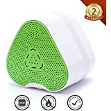 AirCover Natural Gas Detector, Mini Plug-in Gas Leak Sensor Alarm Monitor Sniffer for Combustible Explosive Gas LNG LPG Methane Propane Butane High Sensitivity (Green)