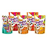Cheap Purina Friskies Party Mix Cat Treats Bundle: 5 Flavor Variety Pack (1 Bag of each flavor)