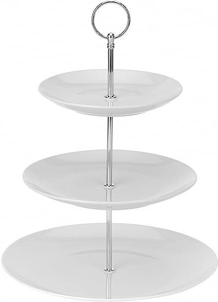 urbnchef Ceramic Cake Stand Porcelain Serving Platter  sc 1 st  Amazon UK & urbnchef Ceramic Cake Stand Porcelain Serving Platter: Amazon.co.uk ...