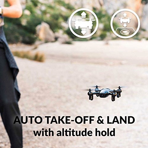 TRNDlabs FADER Drone With HD Camera & WiFi App Live View - Auto Take-Off & Land - 6 Axis Gyro - FPV