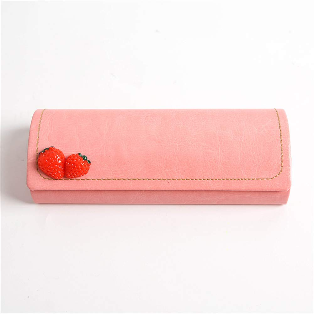 TTXST Simple Pencil Case Large Capacity Creative Strawberry Pencil Bag Small Fresh and Lovely Stationery Bag College Student Creative Pencil Case Pencil Case,C by TTXST