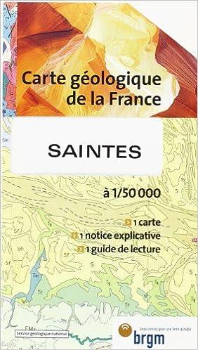 En ligne Carte géologique : Saintes epub, pdf