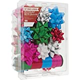 Berwick Offray Assorted Colors All Occasion, Birthday, and Christmas Bows and Christmas Ribbon, 25 Bows and 80 Feet of Ribbon: more info