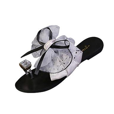 Hausschuhe Sommer Damen Hausschuhe,rutschfeste High Heels,Flip Flops,Badeschuhe,36,Grau unten grau
