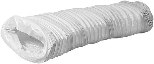 Abzugshaube Trocknerzubeh/ör Abzug W/äschetrockner Schlauch Abluft f/ür Klimaanlagen Flachkanal 220x55mm lange 3m PVC Abluftschlauch