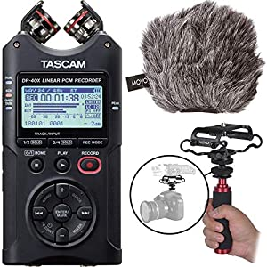 Tascam DR-40X Multitrack Portable Audio Recor...