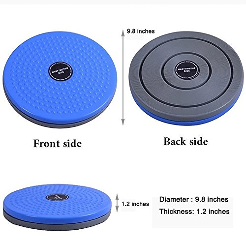 Amcer Waist Twisting Disc Ankle Body Aerobic Exercise