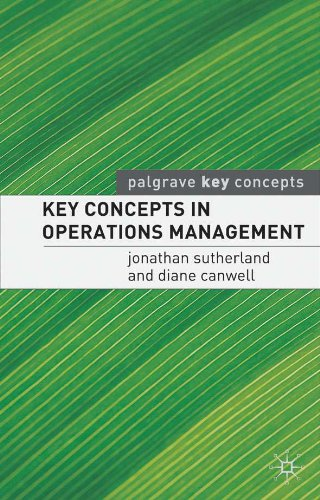Key Concepts in Operations Management (Palgrave Key Concepts)