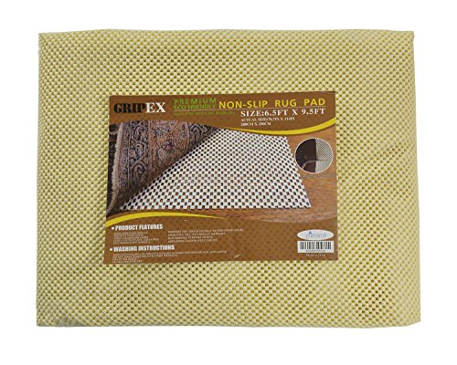 Eco Friendly Rug Pads - Non-slip Non-skid Rug Pad For Area Rugs and Runners Eco Friendly Made With 100% Plant Based Oils Grip-Ex (6' 7