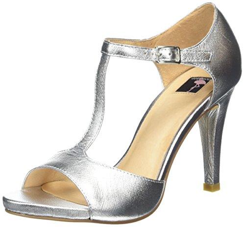Jycx1323 Argento Sandali Donna argento sb7 silver Giudecca SzdwIqxTzW