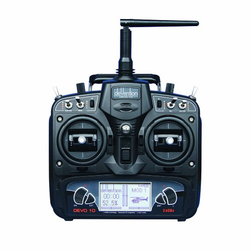 Walkera Devo 10 Radio Transmitter with Rx1002 Receiver (Airplane Walkera)