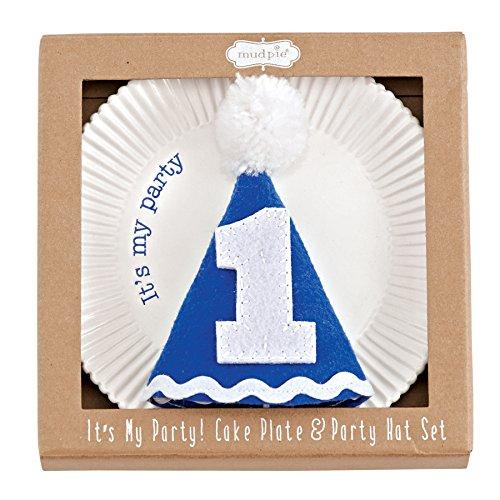 Mud Pie Plate Party Birthday