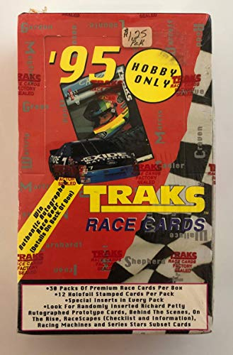 (1995 Traks NasCar Racing Hobby Box)