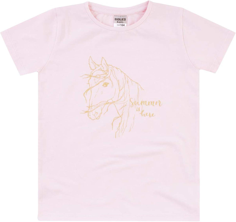 6121817 Alter: 13-18 Monate T/ürkis Aqua Jacky T-Shirt f/ür M/ädchen Summer Styles Gr/ö/ße: 86