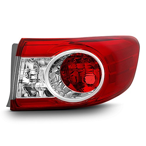 ACANII - For 2011-2013 Toyota Corolla [ USA Built Model ] Outer Rear Replacement Tail Light - Passenger Side Only