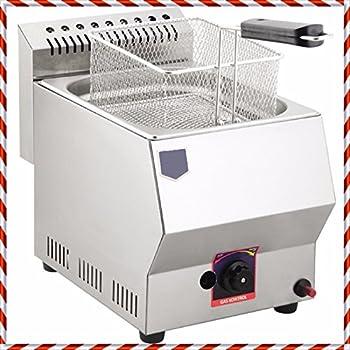 Amazon Com Uniworld Deep Fryer Dual Basket Liquid Propane