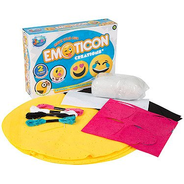 Jacks Make Your Own Emoticon Cushion Creations RMS