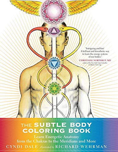 The Subtle Body Coloring Book: Learn Energetic