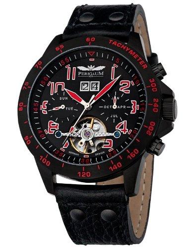 Perigaum Automatic Men's Watch P-1105-Ib-Sr-Le