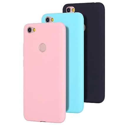 3x Funda Xiaomi Redmi Note 5A, Carcasa Xiaomi Redmi Note 5A Prime, CaseLover Suave TPU Silicona Carcasa para Redmi Note 5A Prime / Redmi Note 5A Ultra ...