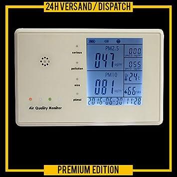 PM2.5 Détecteur Indoor Air Quality Haze Test Humidité et de température d/'essai
