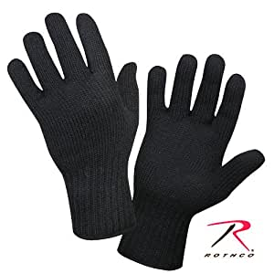 Rothco Black Wool Glove Liner - Small [Misc.]