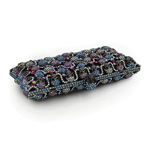 Haut Diamant En B Gamme Luxe Soirée De Embrayage De De Pour Diamant Sac Femme OxvwZq