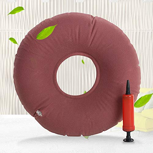 Inflatable Vinyl Ring - Funwill Arrival Air Cushion Inflatable Vinyl Ring Round Seat Medical Hemorrhoid Pillow