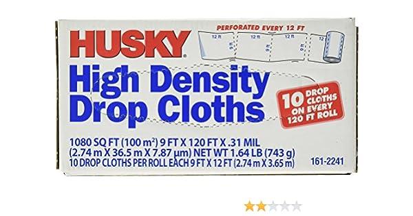POLY AMERICA DCHK-1-01 9-Feet X 12-Feet 1 Mil Drop Cloth