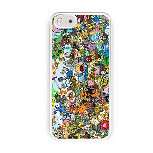 Adventure Time All Character Jack And Finn iPhone 5s Case, iPhone 5 Case