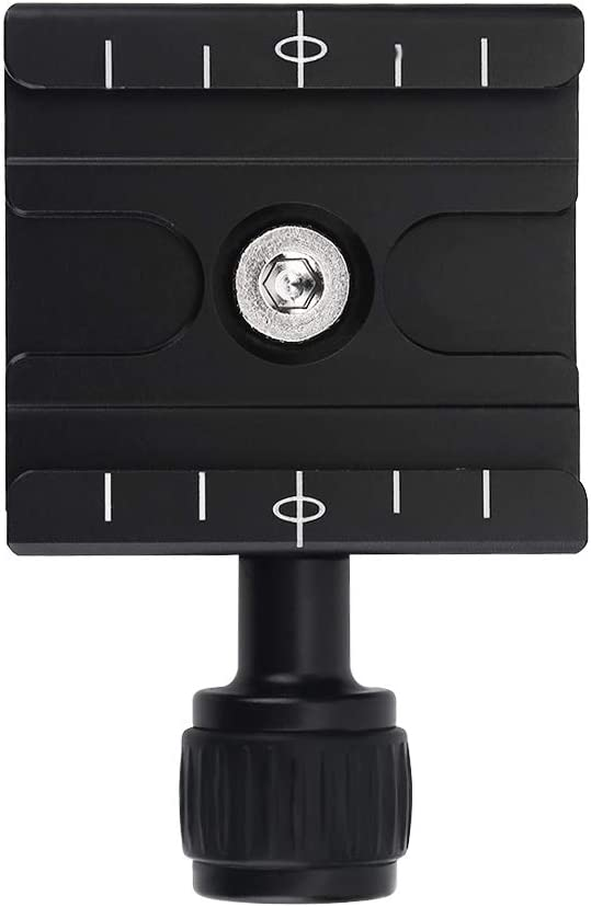 Metal Clamp Quick Release Plate for Arca Swiss RRS BENRO Tripod Ball Head LJ