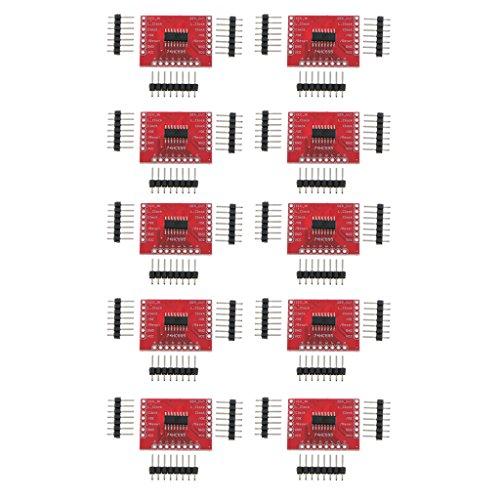 Homyl 74HC595 Shift Register Module Board Breakout, Pack of 10
